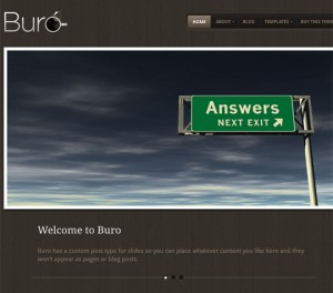 Buro Theme by WooThemes