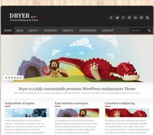Dryer Theme by ThemeForest