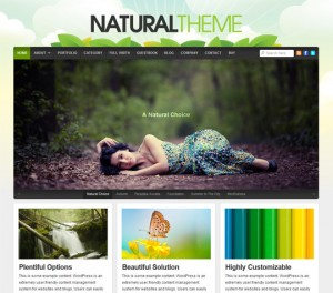Natural Theme by Organic Themes