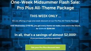 StudioPress Pro Plus All-Theme Pack Discount